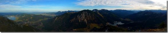Brecherspitze - Panorama (500x98)